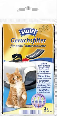 Swirl® Geruchsfilter mit Aktivkohle