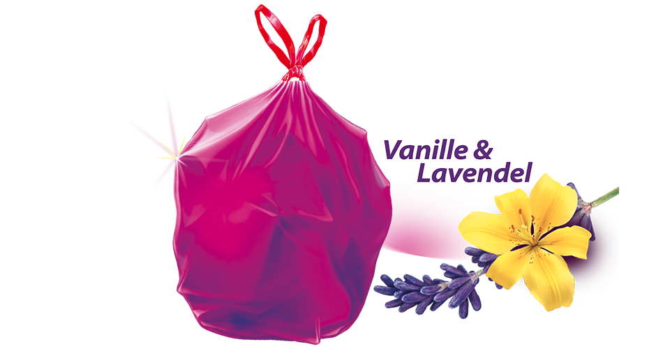 Swirl Duft Müllbeutel Vanille Lavendel