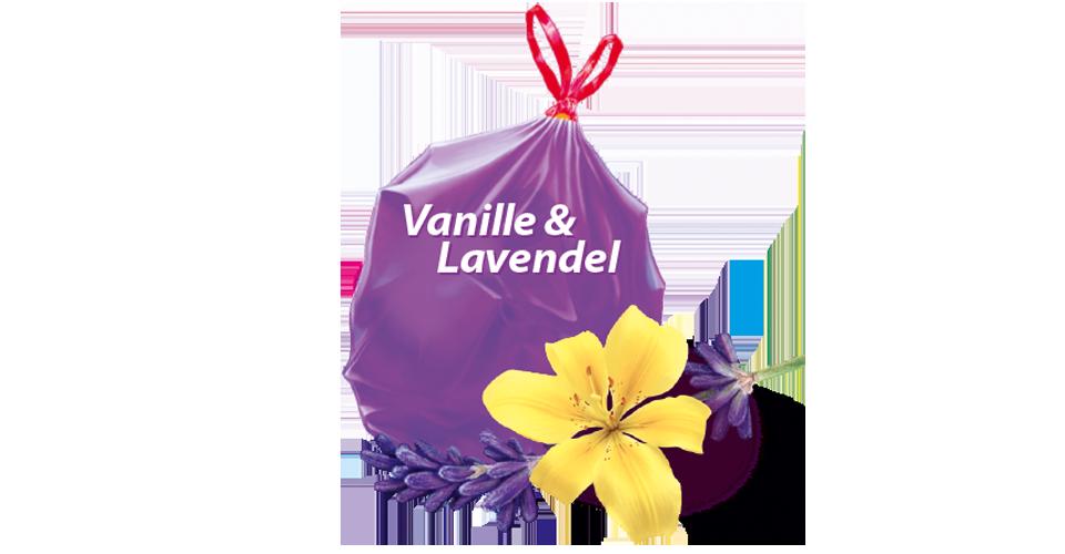 Duft-Müllbeutel Vanille Lavendel