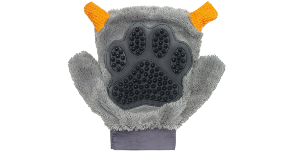Dog cleaning glove