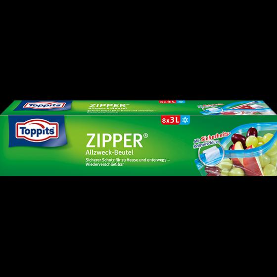 Toppits® Zipper 3l