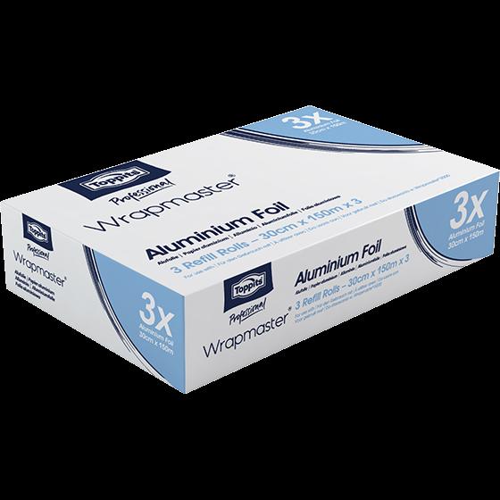Wrapmaster® 3x Alufolie