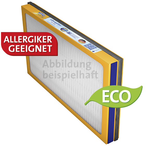 Lüftungsfilter Vallox Heinemann KWL 100/100 R/120