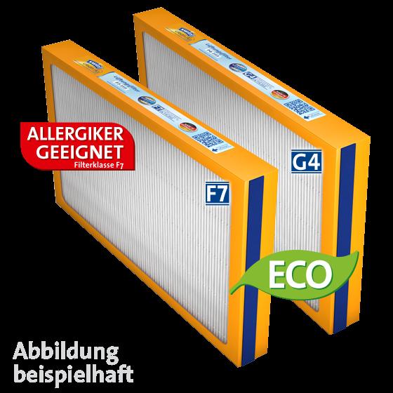 Swirl® Ersatzfilterset (F7+G4) für Viessmann Vitovent 300 (300m³/ 400m³)