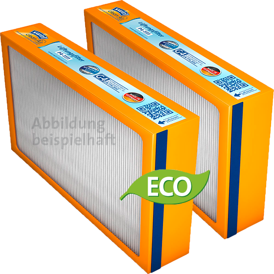Swirl® Ersatzfilterset G4 für Paul Novus (F) 300/450