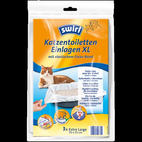 Katzentoiletten-Einlagen XL