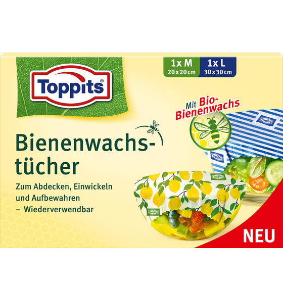 Toppits® Bienenwachstücher