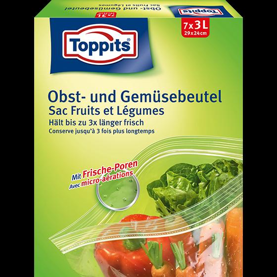 Toppits® Obst-und Gemüsebeutel