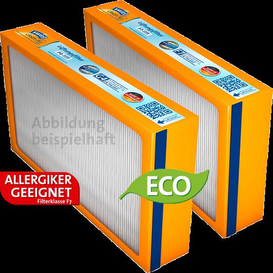 Swirl® Ersatzfilterset (F7+G4) für Pluggit Avent P300