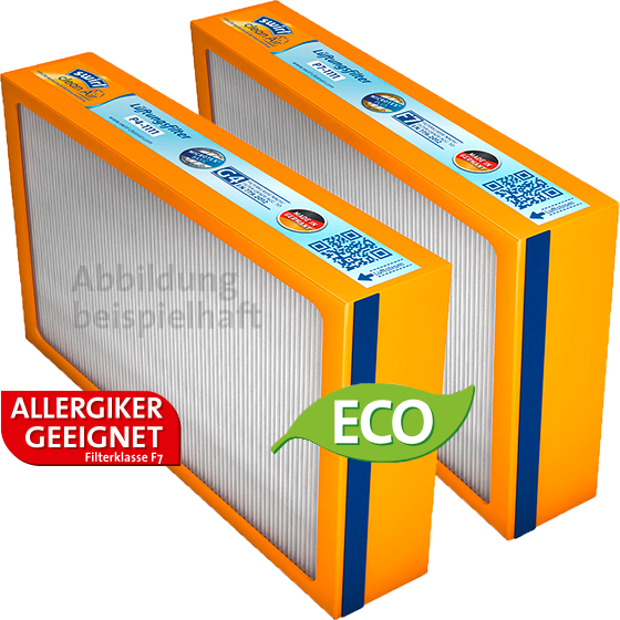 Swirl® Ersatzfilterset (F7+G4) für Vaillant Recovair 360/4+360/4 E