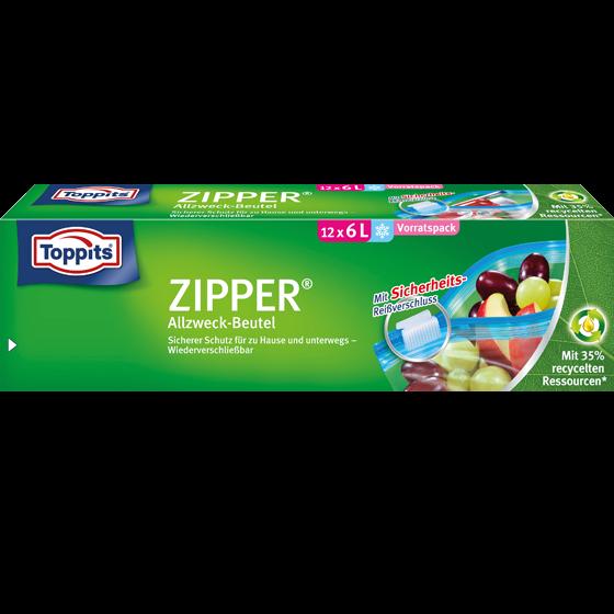 Toppits® Zipper 6L XL