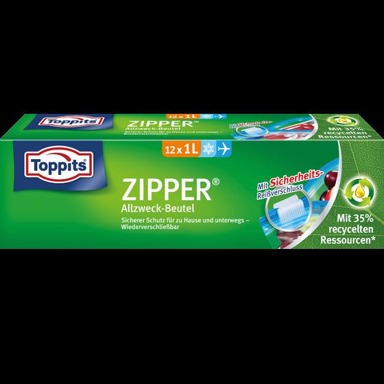 Toppits® Zipper 1l